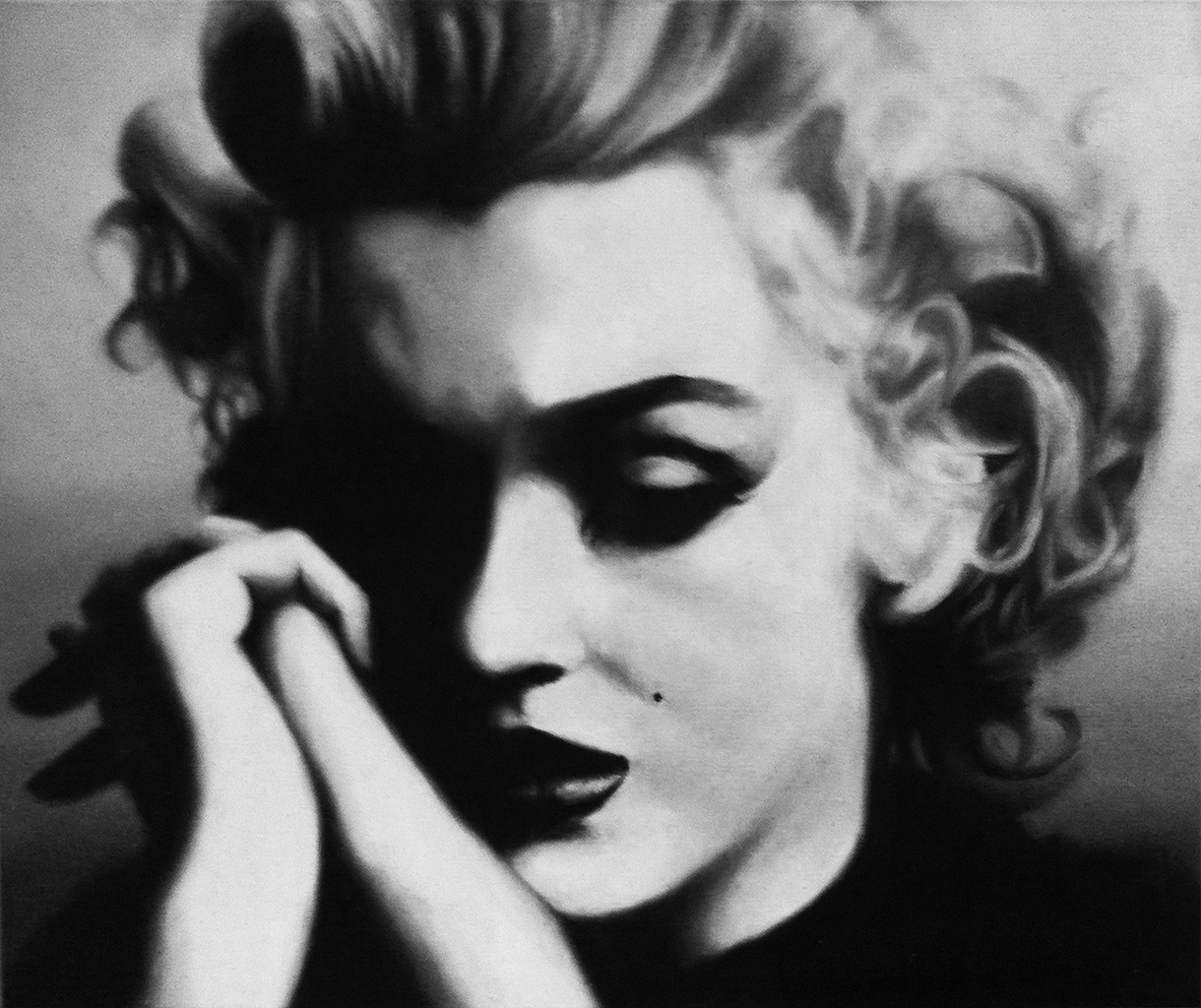 Marilyn Monroe – Oil on Canvas