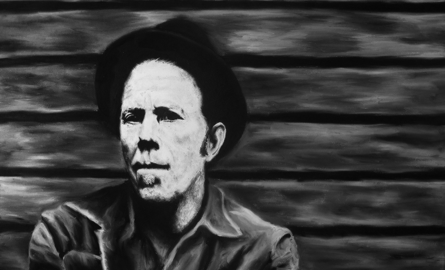Tom Waits – Oil on Canvas